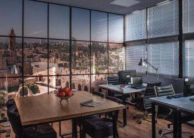ירושלים משרד להשכרה ל 8 עובדים